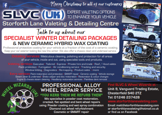 Winter Detailing at SLVC Chesterfield